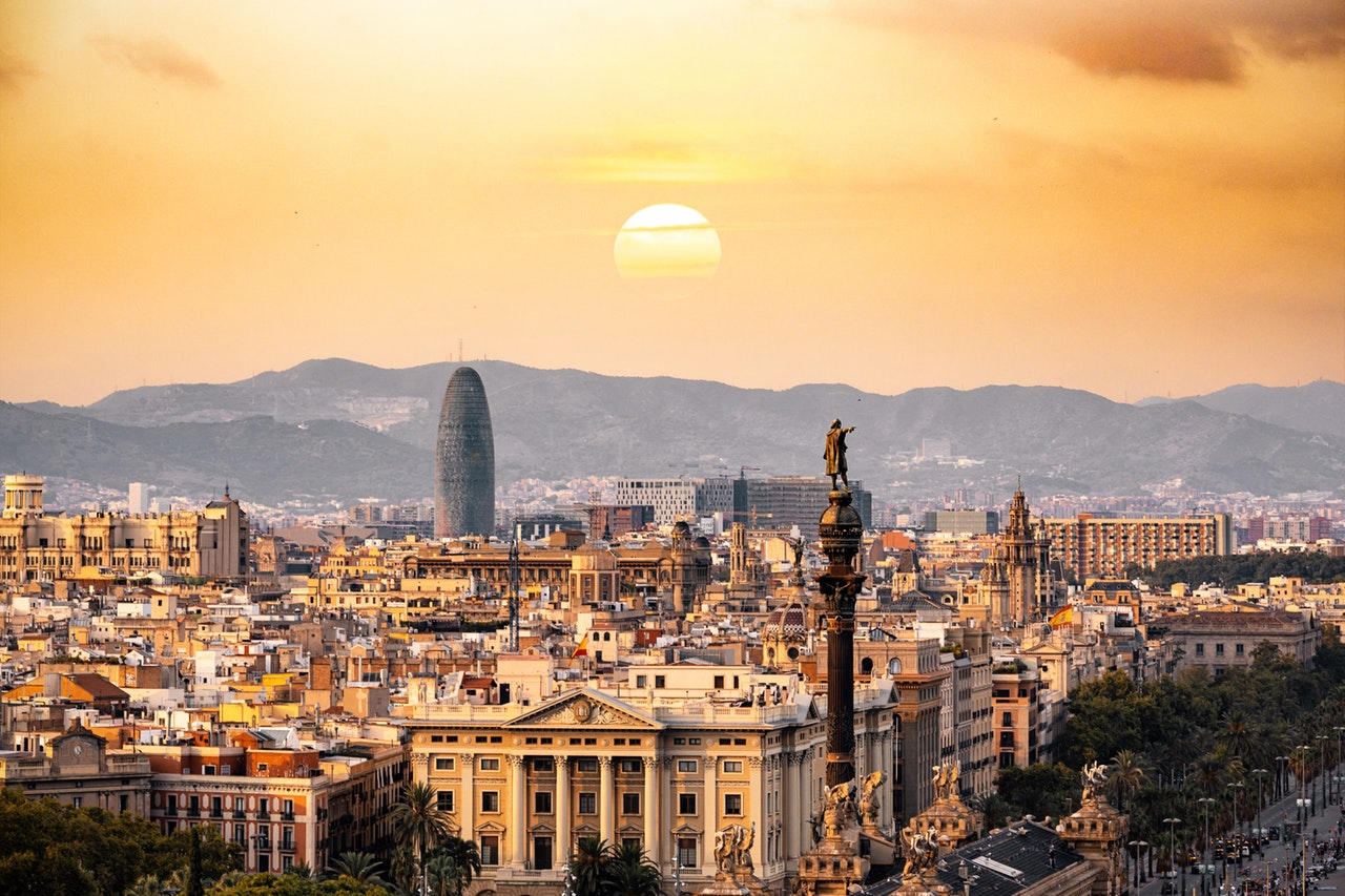a City /Travelling to Spain Alone
